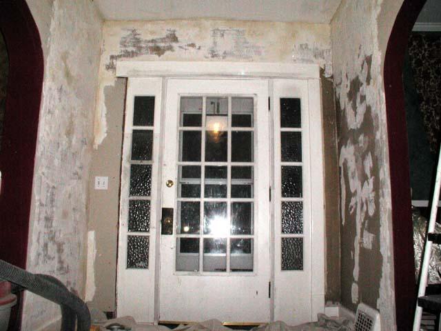 Foyer Window Leak : Remodel foyer