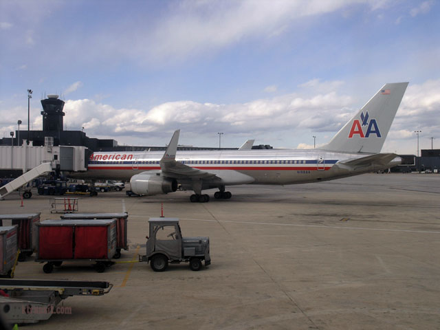 American Airlines at BWI Airport