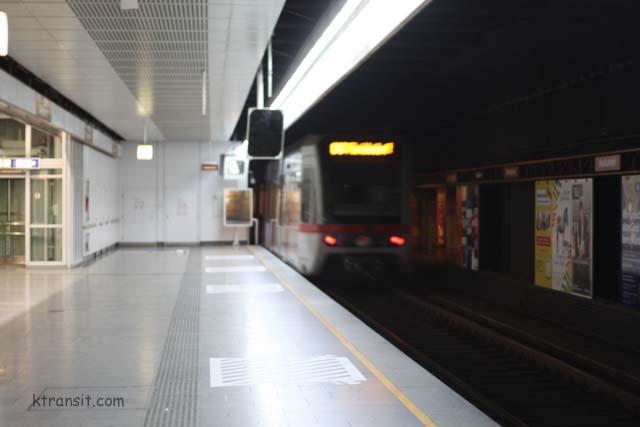 Vienna U Bahn Westbahnhof