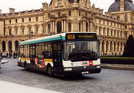 paris buses. Black Bedroom Furniture Sets. Home Design Ideas