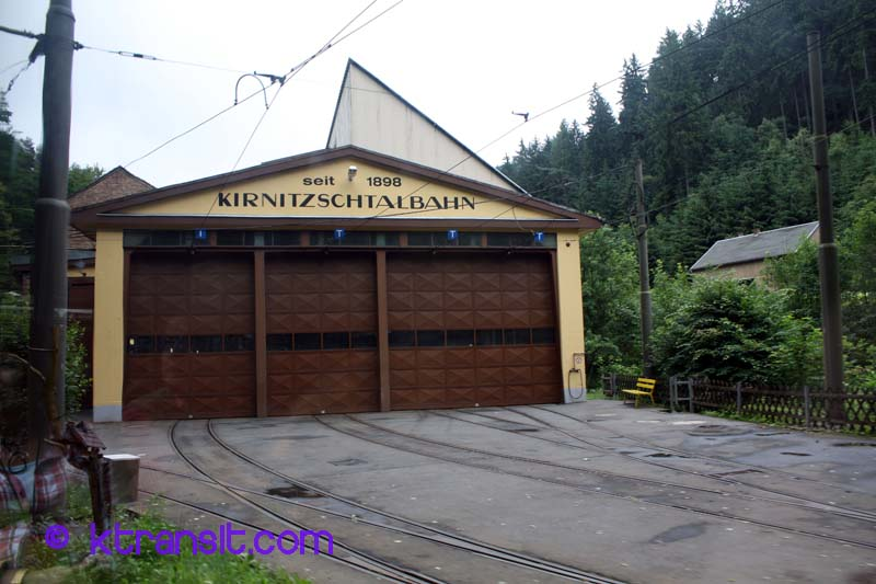 Bad schandau tram depot for Depot bad