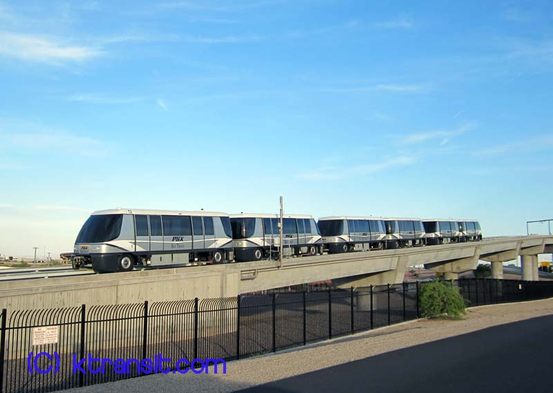 Phoenix Transit Gt Skyharbor Sky Train
