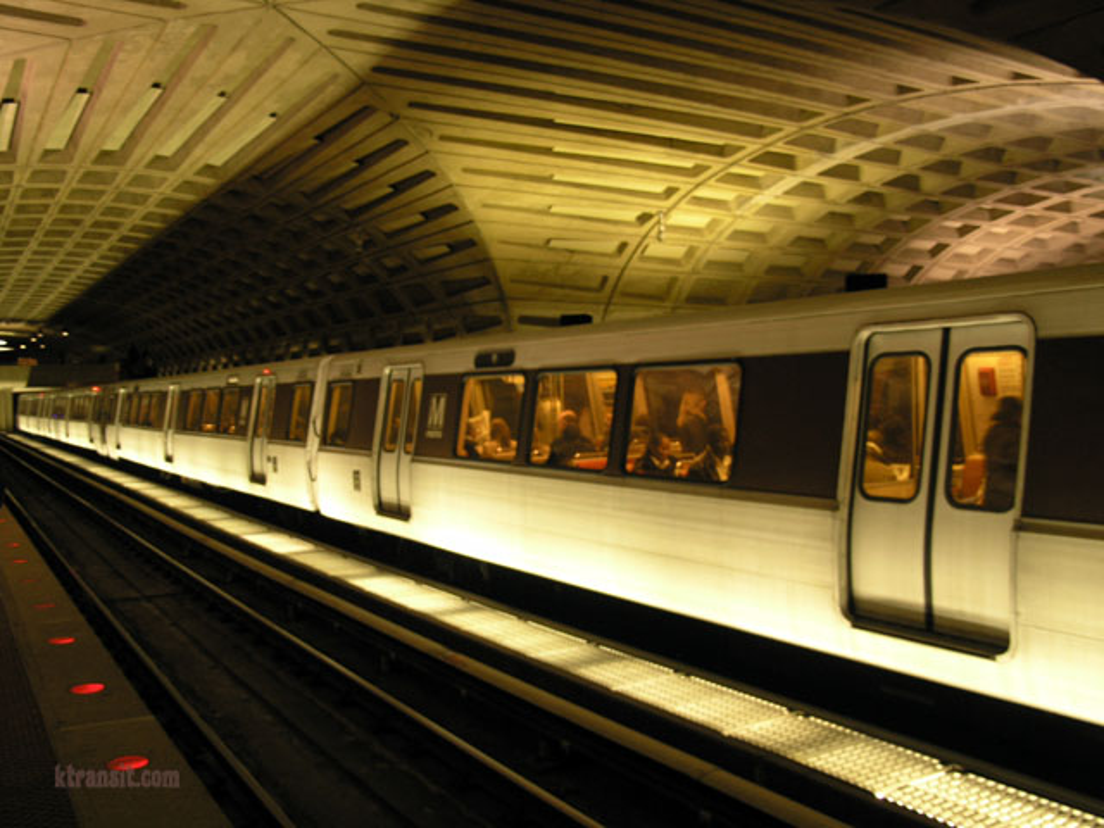 DC Metro Metro Center
