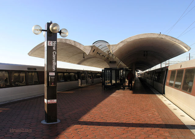 New Carrollton Metro Station