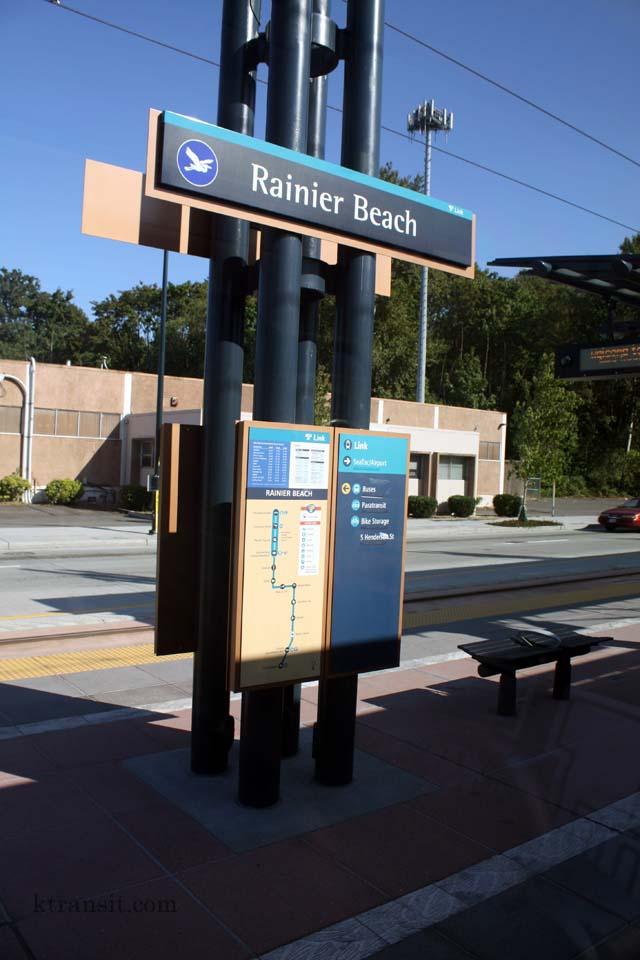 Seattle Light Rail Gt Rainier Beach