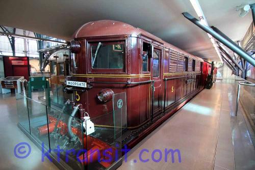 Underground Electric Locomotive - Moorgate