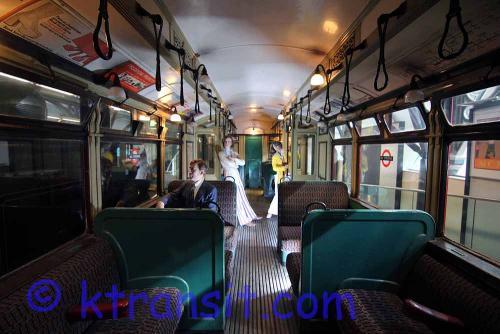 Underground Train interior