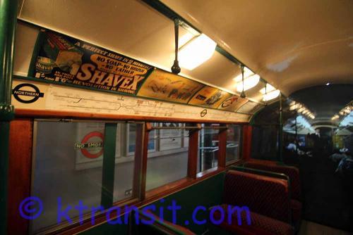Tube Train interior