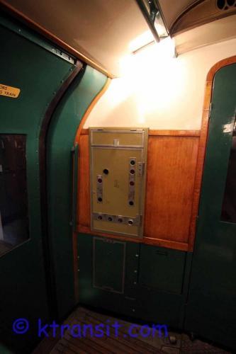 Tube Train Guard Controls