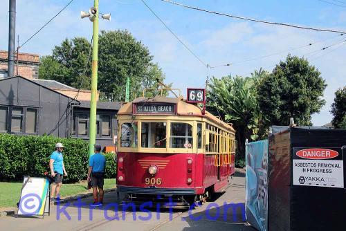 A: Tram 906