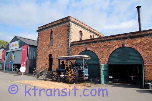 F: Farm Equipment: Steam Tractor