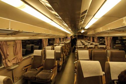 Inside the Japan Shinkansen