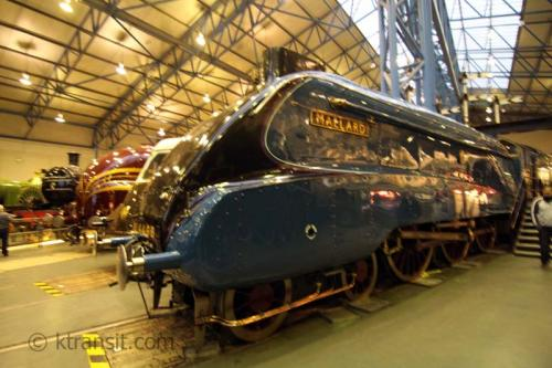 Mallard Steam Locomotive