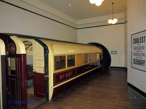 Glasgow subway car