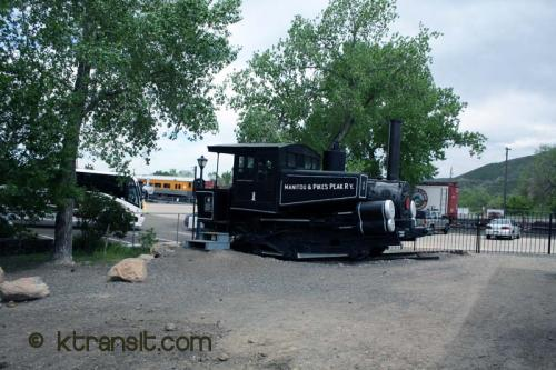 Pikes Peak Cog Locomotive # 1