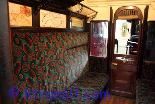 Underground train - old Carriage