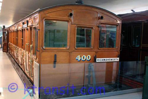 Underground train - old Carriage