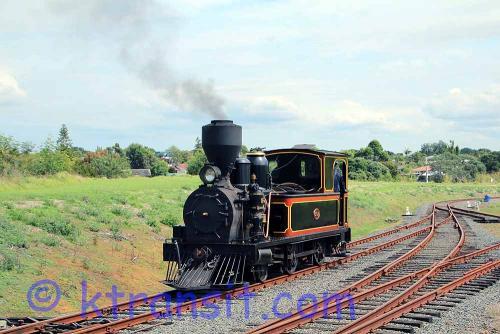 B: Rail: Steam Train