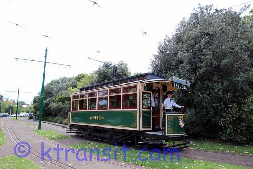 A: Tram 44