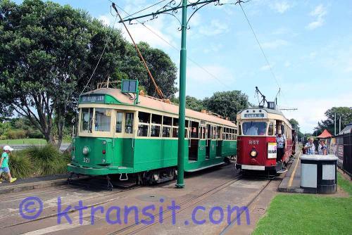 A: Tram 257 & 321