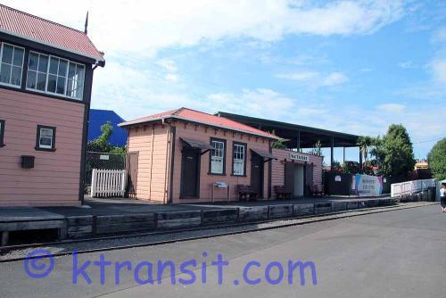 B: Rail: Old Railway Station