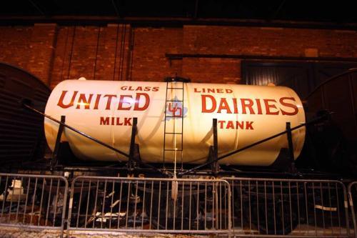 Milk Tank car
