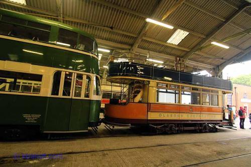 Glasgow Corporation Tramways # 1068