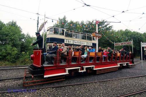 Blackpool Tram # 166
