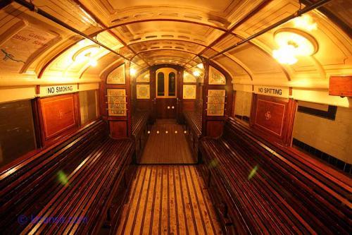 Glasgow Subway interior
