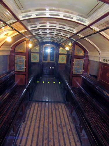 Glasgow Subway Car Interior
